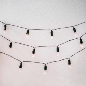 Ретро-гирлянды с лампочками от мастерской Family Lights