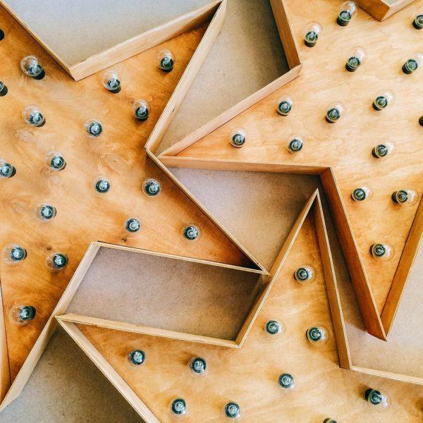 3 звезды OpenBox с лампочками от Family Lights